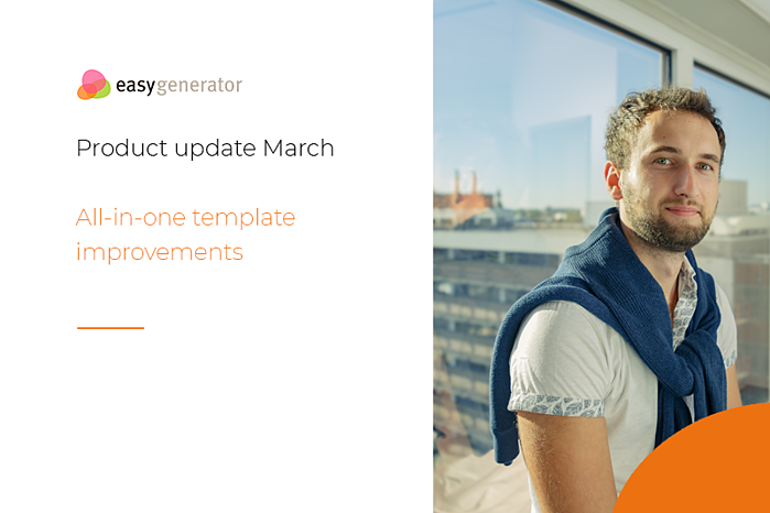 Easygenerator product update March
